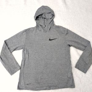 Nike Dri-Fit long sleeve hooded shirt sz LG
